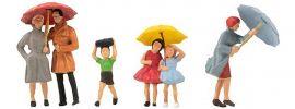 FALLER 150953 Passanten mit Regenschirm | Figuren Spur H0 online kaufen