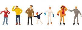 FALLER 150956 Weihnachtsmarktbesucher | 7 Stück | Figuren Spur H0 online kaufen