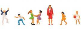 FALLER 150958 Schulkinder mit Lehrerin | 7 Stück | Figuren Spur H0 online kaufen