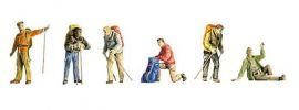 FALLER 151064 Trekking Wanderer Figuren Spur H0 online kaufen