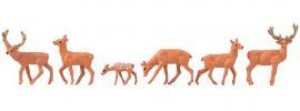 FALLER 151907 Rotwild | 6 Stück | Figuren Spur H0 online kaufen