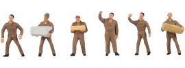 FALLER 155359 Logistikpersonal UPS | 6 Stück | Figuren Spur N online kaufen