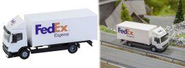 FALLER 161592 Mercedes-Benz Atego 04 Koffer-LKW FedEx  CarSystem Fahrzeug Spur H0 online kaufen