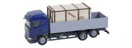 FALLER 161597 Scania R 2013 HL Pritschen-LKW  mit Holzkiste CarSystem Fahrzeug Spur H0 online kaufen
