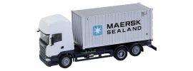 FALLER 161598 Scania R 2013 TL mit Seecontainer MAERSK CarSystem Fahrzeug Spur H0 online kaufen