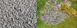 FALLER 170303 Streumaterial Bruchsteine granitgrau 650gr  für alle Spurweiten geeignet online kaufen