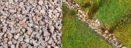 FALLER 170304 Streumaterial Flusssteine beige 650gr für alle Spurweiten geeignet online kaufen