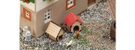 FALLER 180309 Hundehütten 2 Stück LaserCut Bausatz  Spur H0 online kaufen