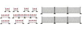 FALLER 180435 Absperrzäune | 460 cm |  Spur H0 online kaufen