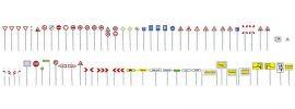 FALLER 180533 Verkehrsschilder-Set Bausatz Spur H0 online kaufen