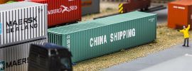 FALLER 180844 40ft Container CHINA SHIPPING Zubehör Spur H0 online kaufen