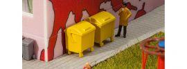 FALLER 180913 Gelbe Mülltonnen 2 Stück Bausatz 1:87 online kaufen