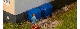 FALLER 180914 Blaue Mülltonnen 2 Stück Bausatz 1:87 online kaufen