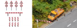FALLER 180930 Baustellenschilder-Set Bausatz Spur H0 online kaufen