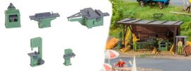 FALLER 180961 Holzbearbeitungsmaschinen Bausatz 1:87 online kaufen