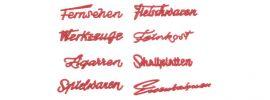 FALLER 180962 Ladenschriftzüge der 50er Jahre 8 Stück Fertigmodell 1:87 online kaufen