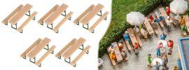 FALLER 180963 Biertischgarnituren 5 Stück Bausatz 1:87 online kaufen