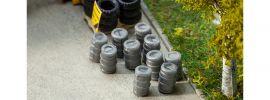 FALLER 180971 10 Aluminium-Bierfässer | Zubehör Spur H0 online kaufen