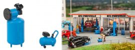 FALLER 180977 Werkstattkompressoren 2 Stück Bausatz Spur  H0 online kaufen