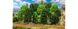 FALLER 181524 Laubbäume sortiert | Höhe 75 mm bis 100 mm | 15 Stück | Spur H0 + N online kaufen