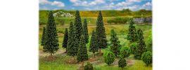 FALLER 181540 Mischwaldbäume klein sortiert 25 Stück Spur H0 und N online kaufen