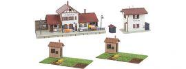 FALLER 190287 Bahnhof-Set Talheim | 4-teilig | Gebäude Bausatz Spur H0 online kaufen