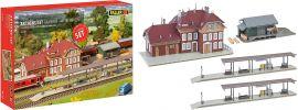 FALLER 190288 Aktions-Set Bahnhof Weidenbach | Gebäude Bausatz Spur H0 online kaufen
