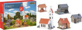 FALLER 190290 Aktions-Set Dorf | 5-teilig | Gebäude Bausatz Spur H0 online kaufen