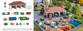 FALLER 191733 Wertstoffhof Bausatz 1:87 online kaufen