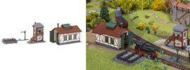 FALLER 222108 Set Nebenbahnlokschuppen mit Blockstelle Bausatz Spur N online kaufen