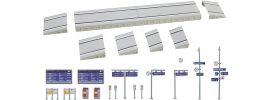 FALLER 222111 Moderner Bahnsteig mit Zubehör | Bausatz Spur N online kaufen
