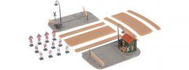 FALLER 222172 Feldwegübergang + Wärterhaus   Bausatz Spur N online kaufen