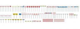 FALLER 272449 Verkehrsschilder-Set Bausatz Spur N online kaufen
