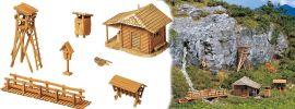 FALLER 272532 Jagdhütte mit Hochsitz | Bausatz Spur N online kaufen