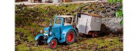 POLA 331613 Bulldog mit Schäferwagen Bausatz Spur G online kaufen