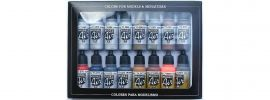VALLEJO 771181 Farbset Metall-Effekte | 16x 17 ml online kaufen