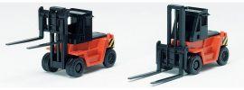 FALLER 975183 Gabelstapler orange  2 Stück Fertigmodell 1:160 online kaufen