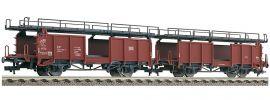 FLEISCHMANN 522401 Zwei Doppelstockwagen für Autotransport Bauart Laaes 541 DB | DC | Spur H0 online kaufen