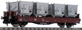 FLEISCHMANN 523301 Behältertragwagen Bauart Lbs 583 DB | DC | Spur H0 online kaufen