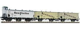 FLEISCHMANN 538101 Güterwagenset Seefische DRG | 3-tlg. | DC | Spur H0 online kaufen