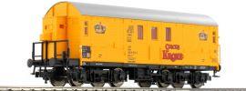 FLEISCHMANN 539502 Pferdetransportwagen Bauart Hakrs-v346 CIRCUS KRONE der DB Spur H0 online kaufen