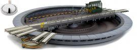 FLEISCHMANN 665201 Drehscheibe mit elektrischen Antrieb | für AC System märklin | Spur H0 online kaufen