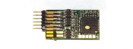 ausverkauft | Fleischmann 687303 DCC-Decoder mit RailCom 6-pol | Spur H0+TT online kaufen
