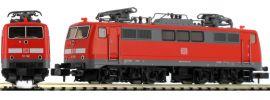 ausverkauft | FLEISCHMANN 734603 E-lok BR 111 verkehrsrot DB AG | DC analog | Spur N online kaufen