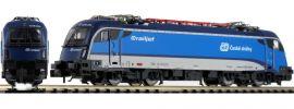 FLEISCHMANN 781803 E-Lok Rh 1216 Railjet CD | DC analog | Spur N online kaufen