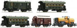 FLEISCHMANN 809003 Güterzug mit Personenbeförderung K.Bay.Sts.B. Wagenset | Spur N online kaufen