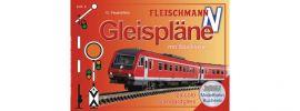 FLEISCHMANN 81399 FLEISCHMANN Gleispläne für Schotterbettgleise Spur N online kaufen