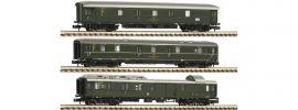 FLEISCHMANN 814509 Postzug Wagen-Set 3-tlg. DB | Spur N online kaufen