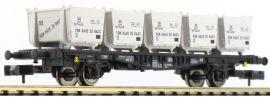 FLEISCHMANN 823101 Behältertragwagen von Haus zu Haus der DB Spur N online kaufen