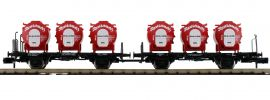 FLEISCHMANN 823302 Set Behältertransportwagen Resi-Schmelz DB | 2-tlg. | Spur N online kaufen